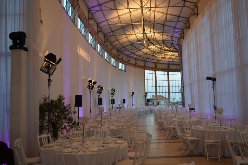 Wedding Venue with draping